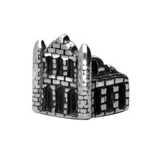 Sterling Silver Whitby Abbey Charm, In Stock. Yorkshire Rose, Whitby Abbey, Gift Wrapping Services, Luxury Packaging, Latest Jewellery, Jewelry Packaging, Gemstone Colors, Silver Charms, Fashion Bracelets