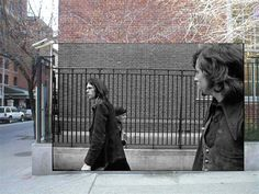 The original photo for Neil Young's 'After the Gold Rush' album cover by Joel Bernstein - see http://www.popspotsnyc.com/afterthegoldrush/