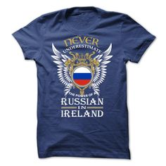"[Best holiday t-shirt names] A Russian in IRELAND  Order Online  Proud of Our Country ! Never Underestimate The Power Of A Russian ! Get Yours Today ! Dont Delay! Select Your Style Size & Quantity then Hit ""Add To Cart"" Multiple Styles Available Below  Tshirt Guys Lady Hodie  SHARE and Get Discount Today Order now before we SELL OUT  Camping day ireland t shirt for president ugly christmas holiday tshirt"