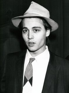 Johnny Depp... love in every movie even my favorite Cry Baby. It's amazing. I fell in love with Johnny in Cry Baby.
