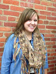 Knitting Patterns Galore - Nicole Cowl Aran Weight Yarn, Crochet Fabric, Super Bulky Yarn, Quick Knits, Thick And Thin, Knit Cowl, Knitting Projects, Knitting Patterns, Fiber
