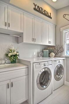 Inspiring Remarkable Laundry Room Layout Ideas for The Perfect Home Drop Zon. Inspiring Remarkable Laundry Room Layout Ideas for The Perfect Home Drop Zones Laundry Room Layouts, Mudroom Laundry Room, Laundry Room Cabinets, Laundry Room Remodel, Farmhouse Laundry Room, Small Laundry Rooms, Laundry Room Organization, Laundry Room Design, Diy Cabinets