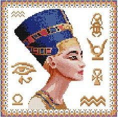 cross stitch design of egypt symbols - Yahoo Image Search Results
