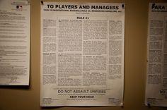 baseball rule 21 - Google Search