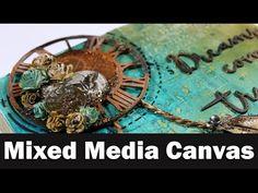 Mixed Media Process Art Journal Series - Page - Smile Mixed Media Techniques, Mixed Media Tutorials, Art Tutorials, Mixed Media Journal, Mixed Media Collage, Mixed Media Canvas, Mix Media, Steampunk, Paper Butterflies