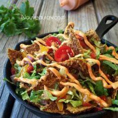 Raw-cho Nachos (raw, vegan, gluten-free)