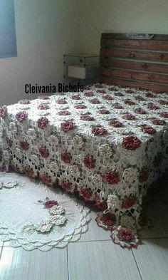 Love Crochet, Crochet Shawl, Knit Crochet, Crochet Blankets, Crochet Bedspread Pattern, Crochet Decoration, Diy Crafts Hacks, Crochet Accessories, Floor Rugs