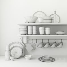 модели: Посуда - Set of ceramic dishes Kitchen 3d Model, Kitchen Cartoon, Custom Rat Rods, Maya Modeling, Animation Portfolio, 3ds Max Tutorials, Polygon Modeling, Casual Art, Ambient Occlusion