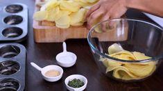 Elle Met Des Pommes De Terre Tranchées Dans Un Moule à Muffin: Voici Un Plat Délicieux Et à La Portée De Tous