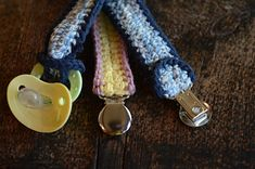 Easy Peasy Pacifier Clip