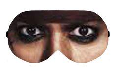 Jack Sparrow Captain Pirates Of The Caribbean Eye Eyes Sleep Sleeping Mask Patch Blinfold Eyemask Eyeshade Sleepwear Eyemask Cover Face Mask by venderstore on Etsy