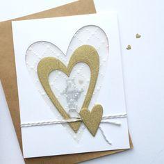 Heart Card by Daria G. #EllenHutsonLLC #EssentialsbyEllen #MixItUpChallenge @mamaelephant #FolkHearts Heart Cards, Cardmaking, Stampin Up, Fall, Handmade Cards, Simple, Card Ideas, Crafts, Essentials