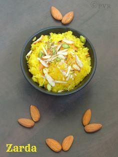 Priya's Versatile Recipes: Zarda - Sweet Saffron Rice
