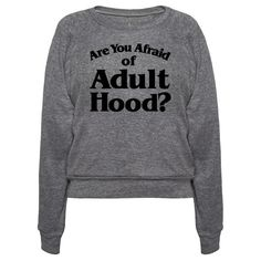 """Are you afraid of the dark, ghost stories, demons, monsters or worst of all the responsibilities that come with being an adult? Forget about the terrors of adulting for a moment and relieve your childhood fears and nostalgic memories with this 90's, retro, """"Are You Afraid of The Dark"""" parody shirt!"""