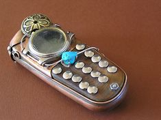 Steampunk Cell Phone