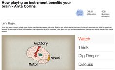 Musica e cervello / How playing an instrument can benefit your brain