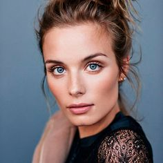тренды 2017, макияж, девушка, голубые глаза,