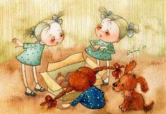 Новые щенки (Виктория Кирдий)