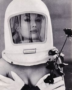 Film Noir Photos: Outlandish Hats: Mylène Demongeot