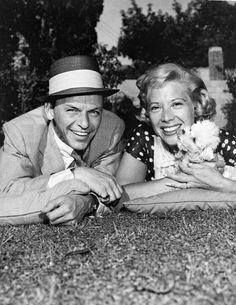 Frank Sinatra and Dinah Shore, c. 1956