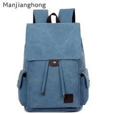 6149650330092 New Hot Brand Canvas Backpack Bag For Laptop 14
