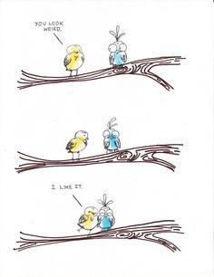 #humor #fun #birds #birdy #love #bird #blackbird #birdy #birdies #vogel #vogeltje #vogeltjes #liefde #merel #mereltjes #prints #quotes #gadgets #foto #vogels #stuff #pictures #illustration #illustratie #art #kunst #accessories #accessoires