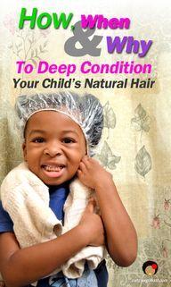 Kids hair tips