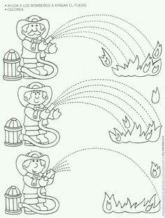Fire Safety Worksheets Preschool Fire Safety Week Worksheet for Kids 1 Preschool Worksheets, Preschool Activities, Free Worksheets, Family Activities, Fire Safety Week, Fire Prevention Week, People Who Help Us, Community Helpers Preschool, Childhood Education