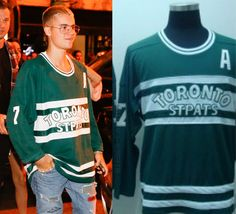 "bieber-fashion: ""NHL Apparel Toronto St Pats Jersey - Sold Out """