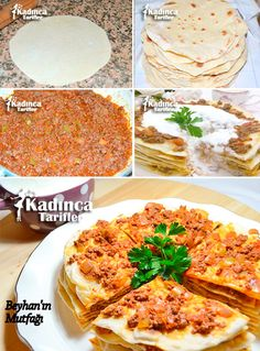 Turkish Recipes, Italian Recipes, Ethnic Recipes, Crepes, Turkey Today, Turkish Sweets, Turkish Kitchen, Fresh Fruits And Vegetables, Fish And Seafood