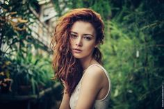 Anna In Greenhouse by Maxim  Guselnikov on 500px