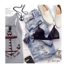 Summer Time Casual Look