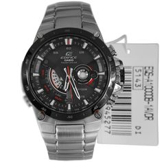 Casio Edifice Red Bull Racing Watch EQS-A1000DB-1AVDR