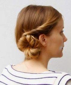 Peinado recogido elegante para fiesta | Cuidar de tu belleza es facilisimo.com