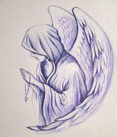 Ангелы | 195 фотографий Bff Drawings, Pencil Art Drawings, Art Drawings Sketches, Tattoo Sketches, Tattoo Drawings, Body Art Tattoos, Hand Tattoos, Sleeve Tattoos, Rose Drawing Tattoo