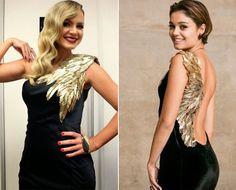 Eliana apostou no look para o Troféu Imprensa; Sophie usou em gravação de Babilônia (Foto: Reprodução/Instagram)