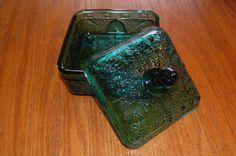 Vintage Tiara Honey/Candy Dish Trinket Box Assorted colors