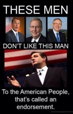 Ted Cruz 4 President..actually it's an indictment against them.  Better get to know the American people.