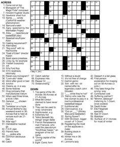OnlineCrosswords.net offers free printable crossword