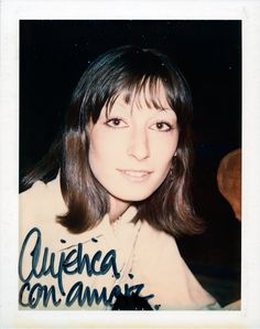 Anjelica Huston, 1972 (Polaroid) © The Andy Warhol Foundation for the Visual Arts, Inc. Andy Warhol Museum, 90s Grunge Hair, Anjelica Huston, Pop Art Movement, Paint Photography, Fashion Magazine Cover, Thing 1, Arnold Schwarzenegger, Best Photographers