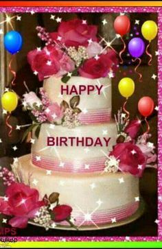 Feliz cumpeaños que lo passes lolsuper bien tk. Happy Birthday Flowers Wishes, Happy Birthday Greetings Friends, Happy Birthday Cake Pictures, Happy Birthday Frame, Happy Birthday Wallpaper, Happy Birthday Video, Birthday Wishes And Images, Happy Birthday Celebration, Birthday Blessings