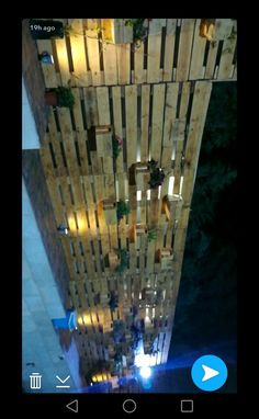 Hand made wood fence👍👍👍 - Home Design Inspiration Balcony Decoration, Fence, Design Inspiration, House Design, Wood, Handmade, Hand Made, Woodwind Instrument, Timber Wood