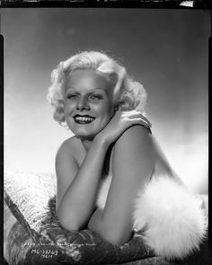 Jean Harlow from Dinner at Eight by George Hurrell.