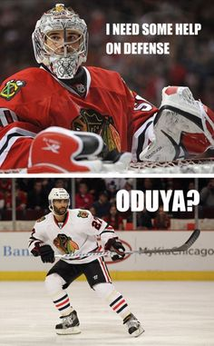 Funny Blackhawks quote