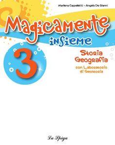 """Cover of """"Magicamente Insieme 3 storia-geo"""""""