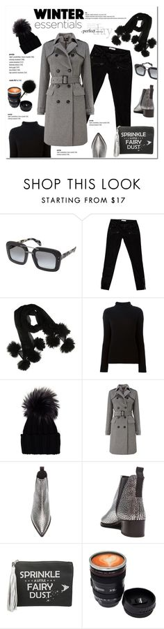 """Winter Wardrobe Staples"" by cruzeirodotejo ❤ liked on Polyvore featuring Prada, Pierre Balmain, Helmut Lang, Inverni, Phase Eight, Acne Studios, Disney, winteressentials and winterstaples"