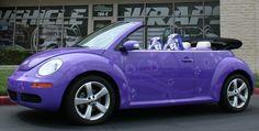 Purple Volkswagen ........ OMG!!! I LOVE IT!!