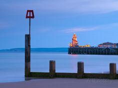 Bournemouth, East Cliff Beach,Main Pier