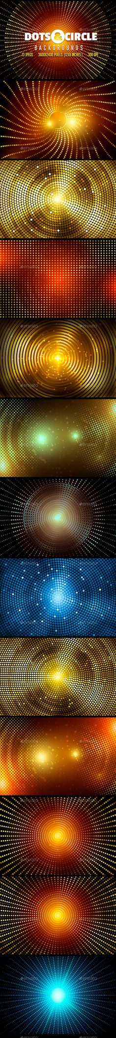 Dots & Circle Backgrounds