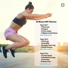 """Only 30-mins but it will """"HIRT"""""""